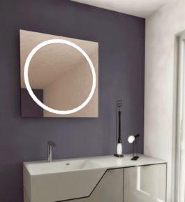 Espejos con luz led integrada archivos espejos con luz - Espejo bano con luz integrada ...