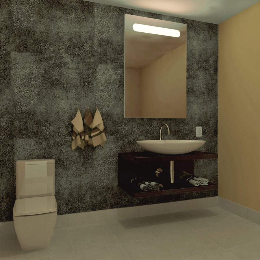 Espejo con luz led integrada mod 107 espejos con luz - Espejo bano luz integrada ...