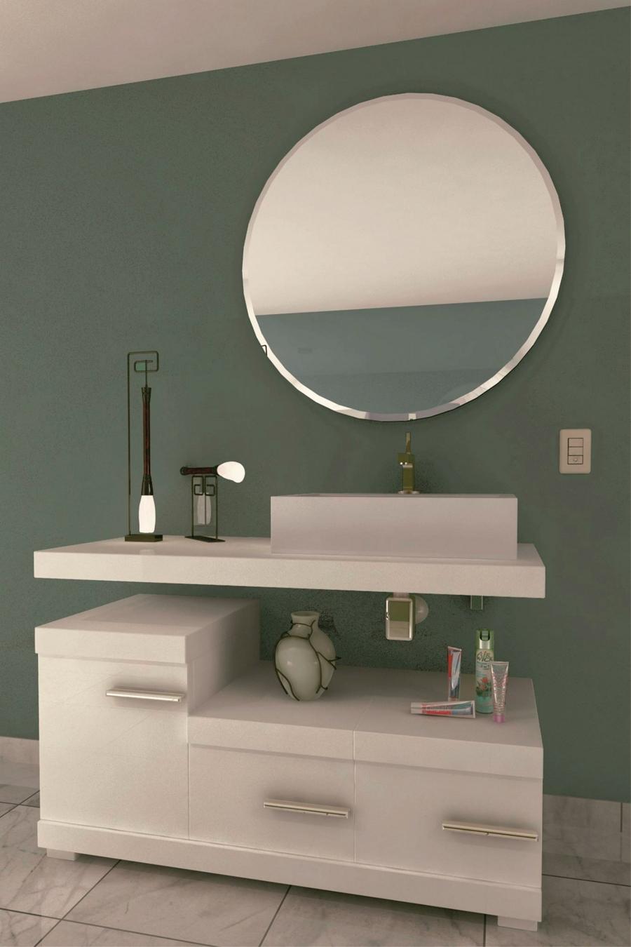 Espejo biselado mod 126 gldesign espejos con luz - Espejos biselados para banos ...