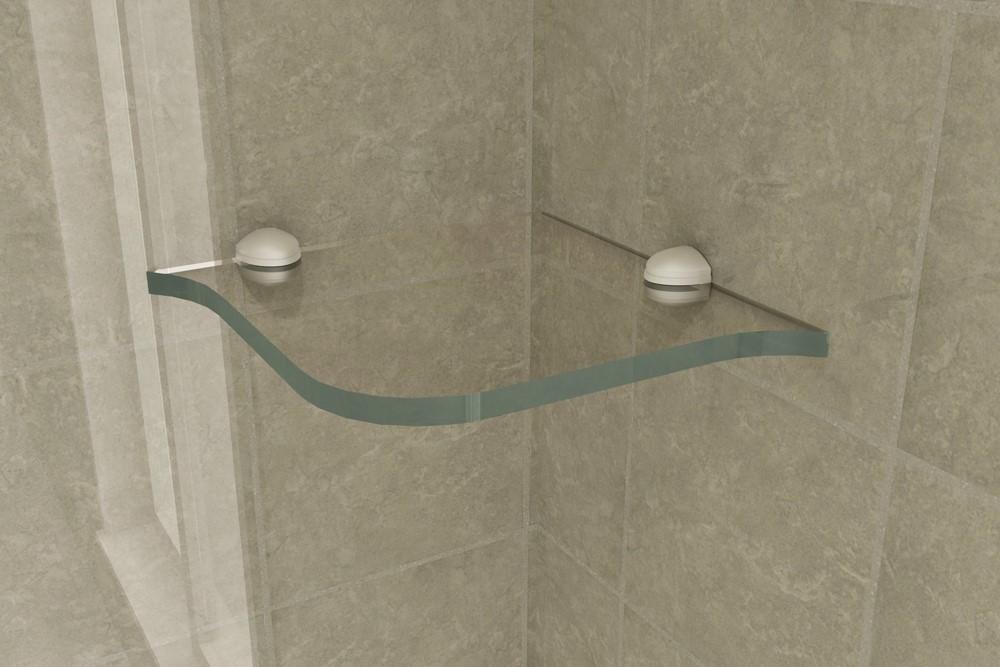 Repisa para ba o mod 208 gldesign espejos con luz - Espejos biselados para banos ...